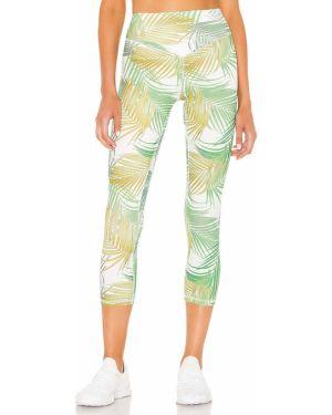 Zielone spodnie z nylonu Lovewave