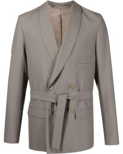 Шерстяной пиджак - серый Lemaire
