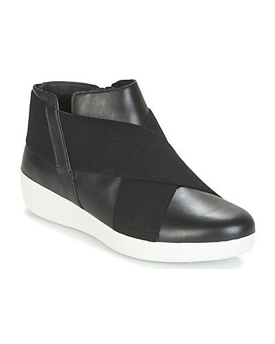 Czarne ankle boots Fitflop
