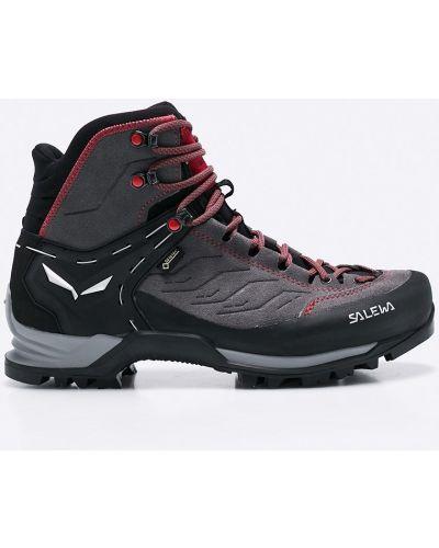 Ботинки на шнуровке треккинговые кожаные Salewa