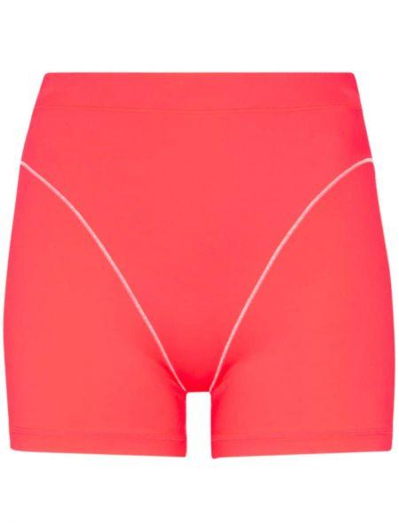 Облегающие розовые спортивные шорты Adam Selman Sport