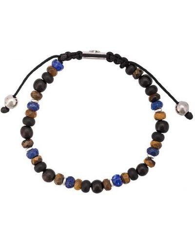 Браслет с камнями синий Nialaya Jewelry