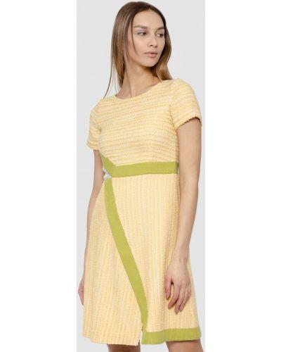 Повседневное платье весеннее желтый Dolcedonna