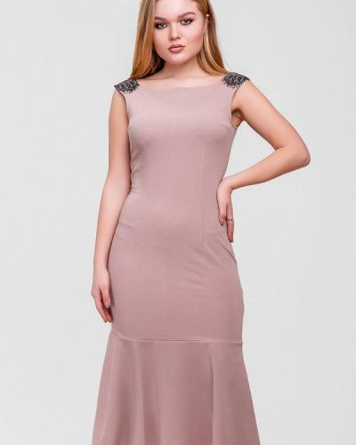 Вечернее платье - бежевое Sfn