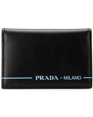 Кошелек черный Prada