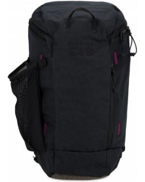 Czarny plecak z siateczką z nylonu Mountain Hardwear