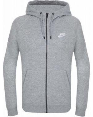 Толстовка спортивная серая Nike