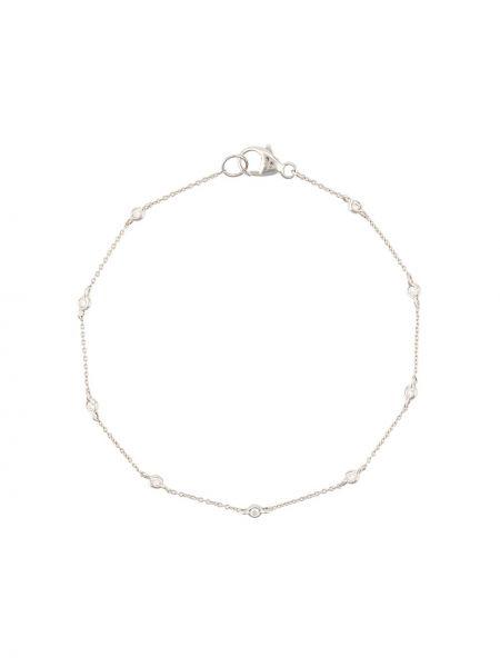 Bransoletka ze złota z diamentem biały Dana Rebecca Designs