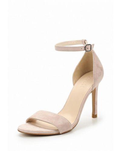 Розовые босоножки на каблуке Zign