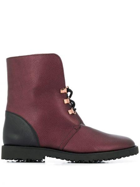 Ботинки на каблуке на шнуровке Hogl