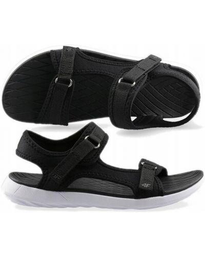 Czarny sandały 4f