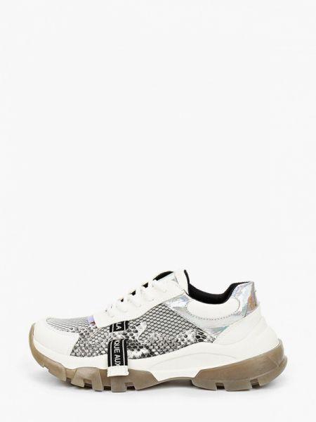Белые кроссовки из искусственной кожи Inario