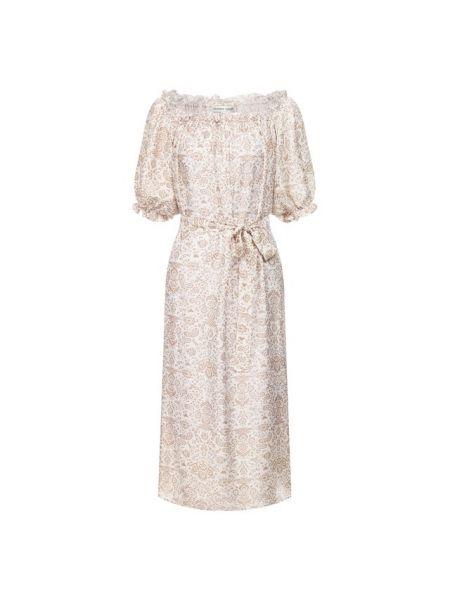 Платье шелковое из вискозы Alexander Terekhov