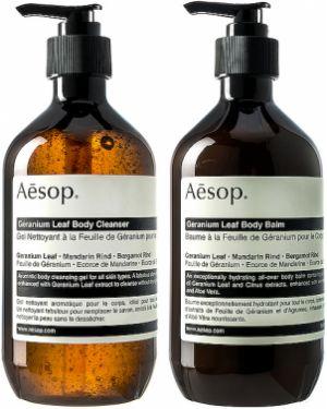 Zielony body skórzany Aesop