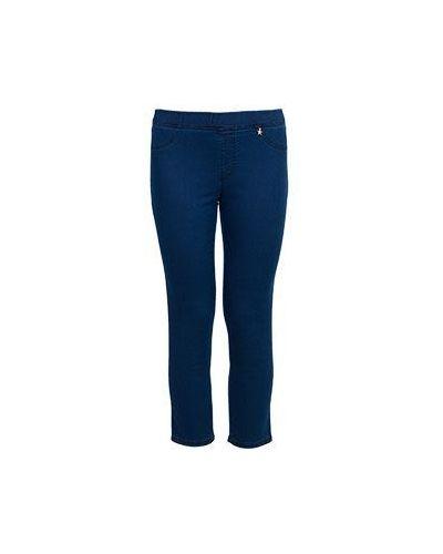 Хлопковые синие джинсы Baroni