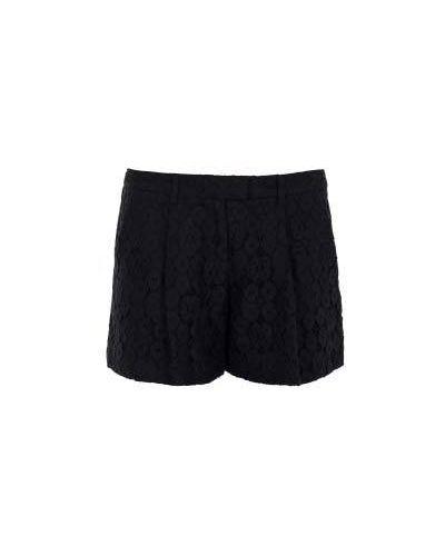 Повседневные шорты - черные Moschino Cheapandchic