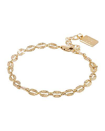 Złota bransoletka ze złota Miranda Frye