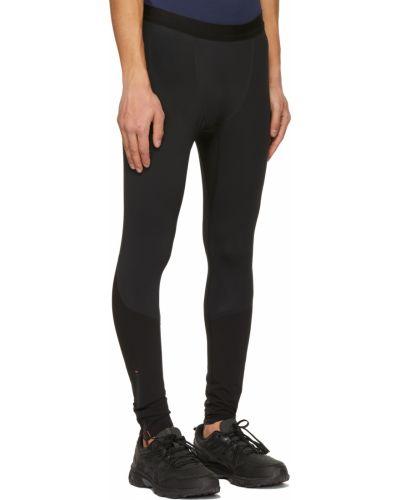 Czarne legginsy z nylonu Soar Running