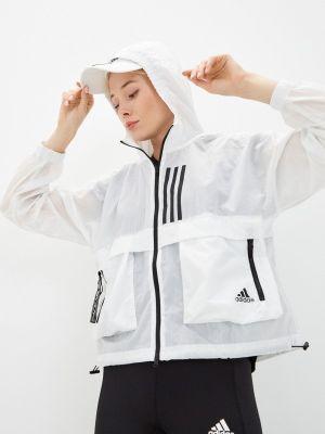 Легкая ветровка - белая Adidas