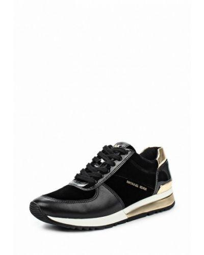 Черные кроссовки низкие Michael Michael Kors