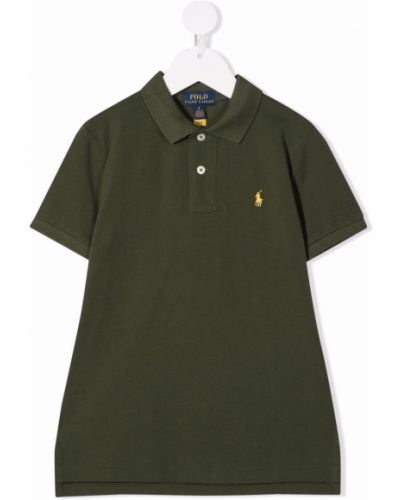 Koszula krótki rękaw - czarna Ralph Lauren Kids