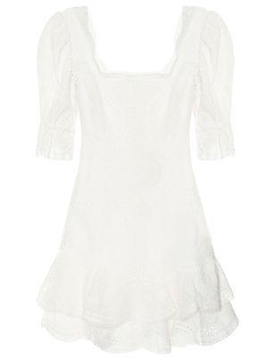 Хлопковое платье - белое Jonathan Simkhai