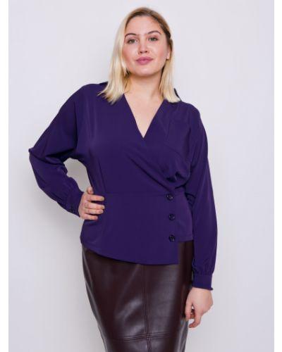 Блузка летучая мышь - фиолетовая Grandua