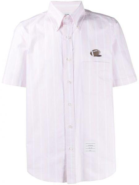Koszula klasyczna Oxford z paskami Thom Browne