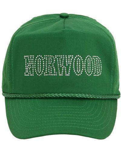 Zielony kapelusz bawełniany Norwood Chapters