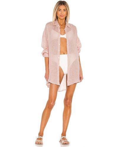 Льняное платье - розовое Vitamin A