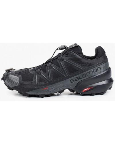Низкие кроссовки - черные Salomon