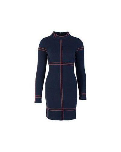 Облегающее платье платье-пиджак в клетку Patrizia Pepe