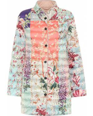 Куртка леопардовая с цветочным принтом Etro