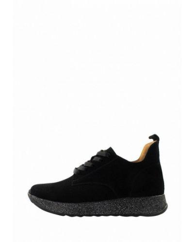 Черные пинетки на торжество Holiday Shoes