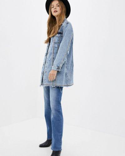 Джинсовая куртка - голубая Whitney