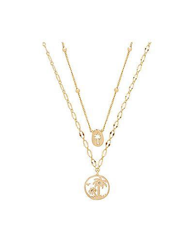 Ожерелье с бусинами из золота Ettika