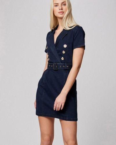Синее джинсовое платье Morgan