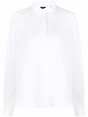 Белая рубашка длинная Giorgio Armani