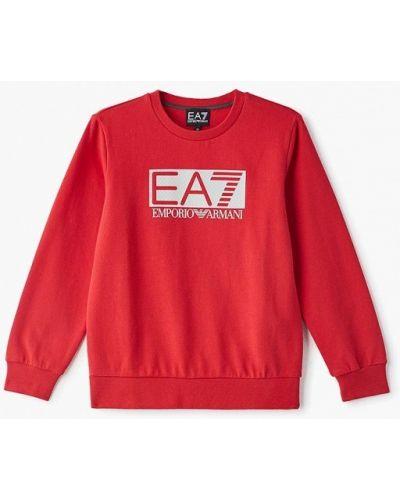 Свитшот красный Ea7
