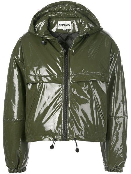 Куртка с капюшоном длинная на резинке Apparis