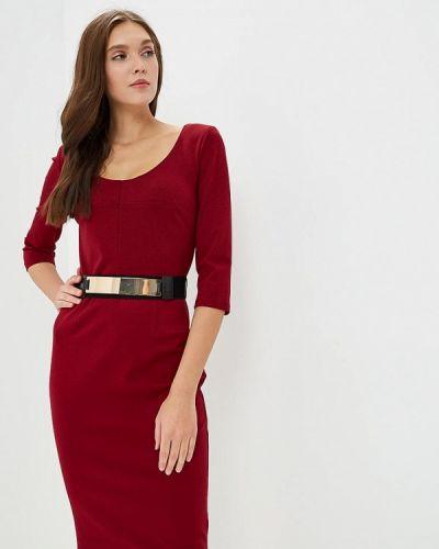 Платье весеннее красный Morgan
