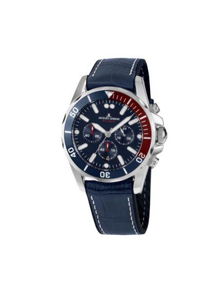 Zegarek granatowy Jacques Lemans