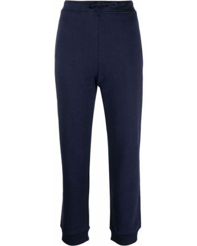 Хлопковые спортивные брюки - синие A.p.c.