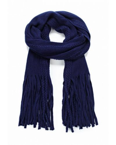 Синий шарф осенний Piazza Italia