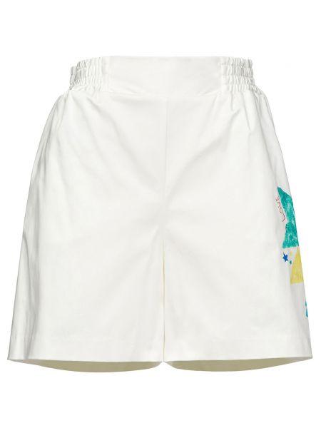 Хлопковые белые шорты Alessandro Dell'acqua