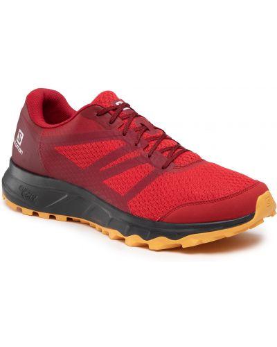 Czerwone sneakersy Salomon
