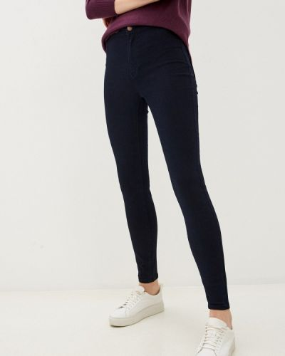 Синие джинсы-скинни узкого кроя Zolla