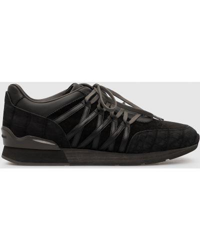 Кроссовки - черные Stefano Ricci
