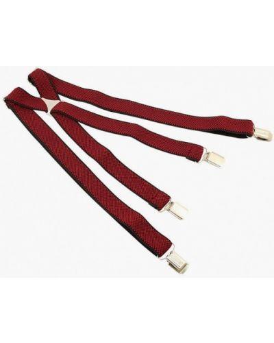 Красные на подтяжках подтяжки осенние Stilmark
