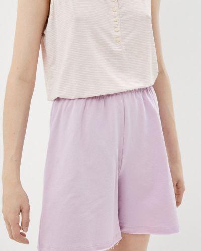 Фиолетовые домашние брюки Defacto